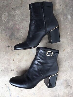 Robert Clergerie Paris leather ankle boots size 7.5