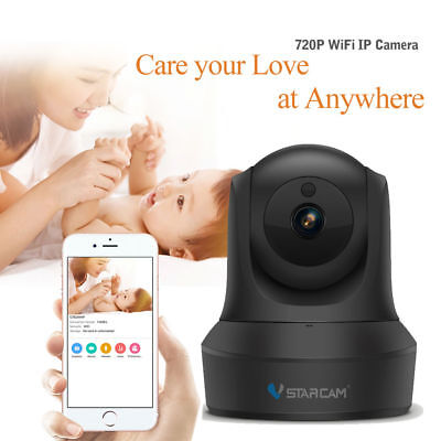 VStacam 1080P WiFi HD PTZ IP Camera Home Security Camera System with iOS/Android