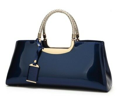 High Quality European style Women Bag blue Travel Shoulder Tote free shipping