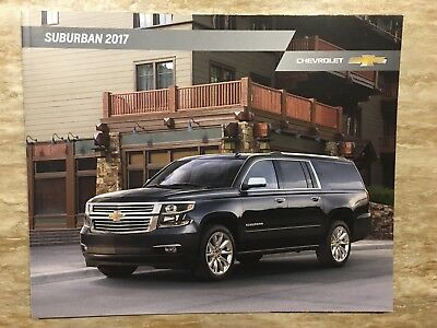 2017 CHEVY SUBURBAN 28-page Original Sales Brochure