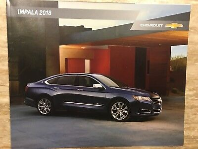 2018 CHEVY IMPALA 28-page Original Sales Brochure
