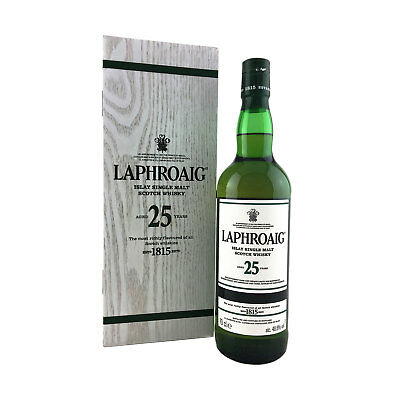 Laphroaig 25 Year Old 2016 Release Single Malt Scotch Whisky 70cl 48.6%