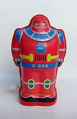 Novelty Wind-Up Red Robot