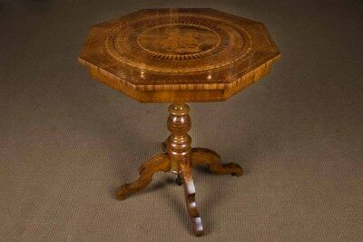 Beautiful Southern German Biedermeier inlaid table um 1860