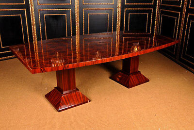 Monumental Table Conference Table Rosewood In The Art Deco Style