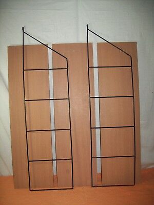 string regal stringregal mit 3 b den 2 leitern 3 eur. Black Bedroom Furniture Sets. Home Design Ideas
