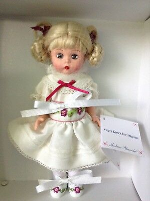"""Madame Alexander #36155 Sweet Kisses For Grandma 8"""" Collectible Doll with Box"""
