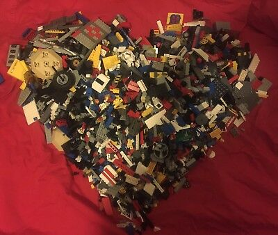 Bulk LEGO From Lots Of Years! Mixed Themes From 2002-2012  Huge 5kg