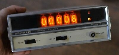 Heathkit Frequency Counter Model 1B-101 W/ Bar Vintage Working -923C