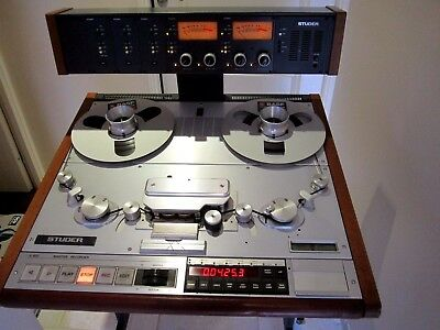 Rare Magnetophone Mastering Studer A820. The Best 2 Tracks Recorder Ever Made!