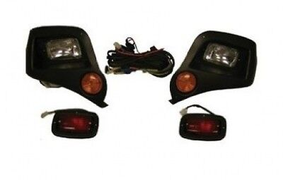 Yamaha G14/G16/G19/G22 Golf Cart Headlight - Light Kit. Golf Cart King