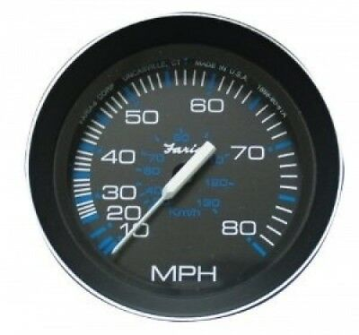 Faria 33010 Coral 80 MPH Speedometer. LJ. Shipping Included