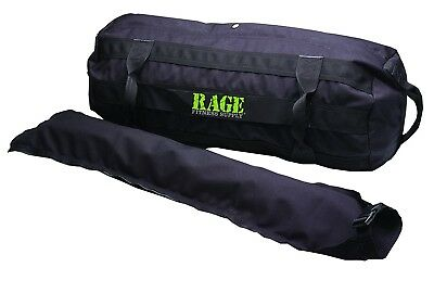 (5 Inserts 80 LBS) - RAGE Fitness Sand Bag Kit. Delivery is Free