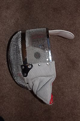 New, Jiang medium size electric sabre fencing mask by Sheffield Fencing Supplies