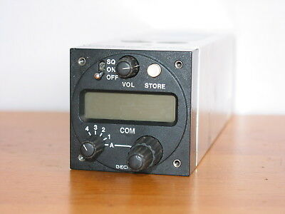 Becker Ar3201 Vhf Transceiver Radio Com !!! With Airworthiness Certificate