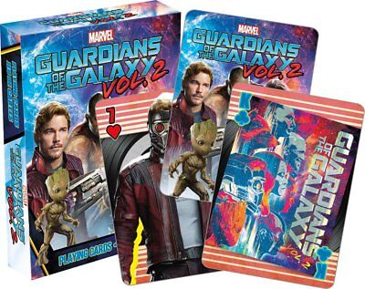 Playing Cards - Guardians of the Galaxy Vol 2 - Movie Poker Games New 52481