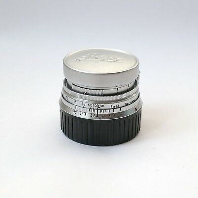 Leitz Leica 5cm 50mm f2 M-Mount Collapsible Summicron