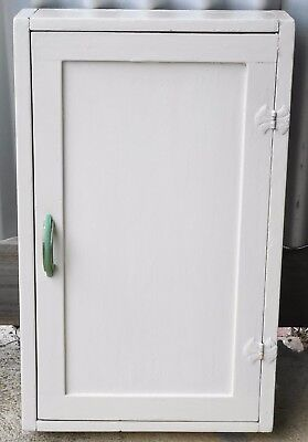 Small Art Deco Wall Mount Medicine / utility Cupboard.