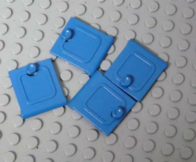 LEGO Fabuland Cupboard 2 x 6 x 7 Door Blue 2043 x4PC