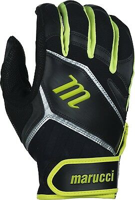 (Adult XX-Large, Electric) - Marucci Elite Batting Gloves. Shipping Included