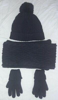 Next Hat Scarf And Glove Set