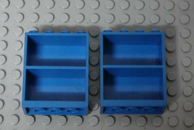 LEGO Homemaker Bookcase 2 x 4 x 4 Blue  x2PC