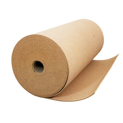 """4' WIDE 1/5"""" THICK ONE CORK ROLL CHOOSE SIZE Bulletin Board Sheet Roll Wall Pad"""