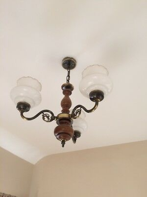 Italian Chandelier - From a 1920's house - Rare and Unusual
