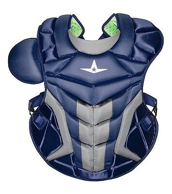 (Navy) - All-Star System 7 Axis 42cm Chest Protector CP40PRO. Shipping Included