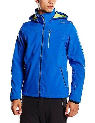 (58, blue - Royal-Lime Green) - CMP – F. LLI Campagnolo Men's Softshell Jacket