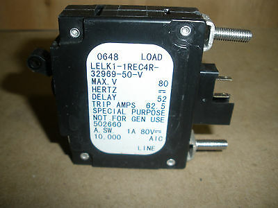 NEW AIRPAX LELK1-1REC5-32148-5-V CIRCUIT BREAKER