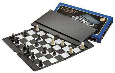 Magnetic Travel chess set with folding chess board - educational toy, game