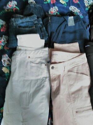 ladies trousers/jeans bundle size 12-14