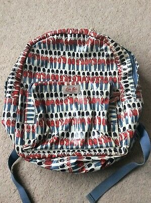 Cath Kidston full size backpack boys soliders