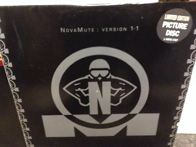 """Various – NovaMute : Version 1.1 - 2x12""""  , Limited Edition, Picture Disc"""
