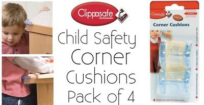 Corner Cushions X8 By Clippasafe Child Safety 2packs Brand New Free Delivery