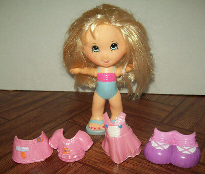 Fisher Price Snap n Style Blonde Hair Doll + Outfits  Preschool Daycare Pretend