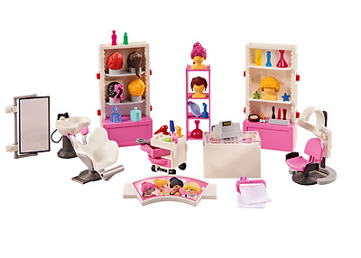 Playmobil 6568 City Life Hairdressing Salon Furniture Set NEW / SEALED ADDON