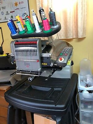 MELCO AMAYA XT 16-Needle Embroidery Machine - GREAT Condition