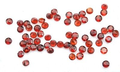 2.5 Carats Size 2mm Small Pieces of GARNET GEMSTONES