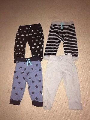 Boys Trousers Joggers 9-12 Months