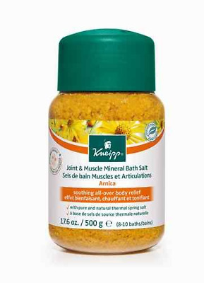 Kneipp JOINT & MUSCLE MINERAL BATH SALT All Over Body Relief ARNICA 500g
