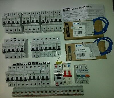 Memshield/Eaton NEW and used joblot Inc 2x30mA pods free postage.