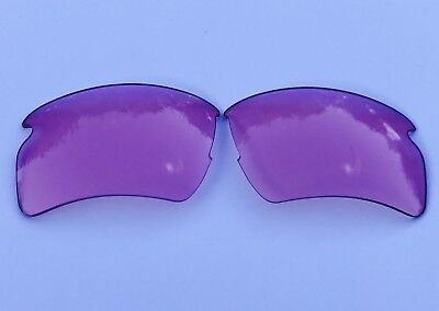Hd Clear Pink Replacement Lenses For Oakley Flak Jacket 2.0 Xl Sunglasses