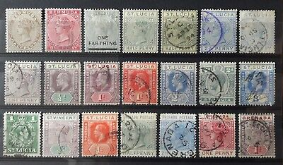 UK Colonies- Lot Mh* & (O) - Etat TB - 1 scan(s) E1623