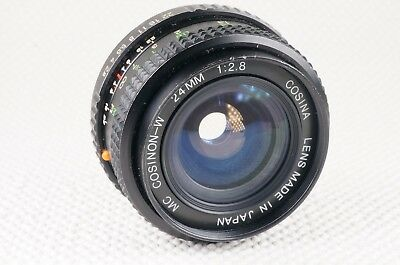 Cosina MC Cosinon-W 24mm f2.8 PK fitting