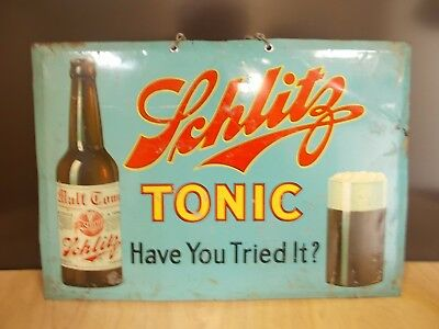 Schlitz Tonic 1900-1930's Pre Prohibition Malt Drink