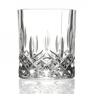 RCR Opera Crystal Double Old Fashion Glass (Set of 6). Lorren Home Trends