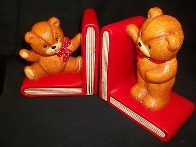 Lucy & Me Teddy Bear Bookends