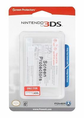 Nintendo 3DS * Official Licensed SCREEN PROTECTORS * NEW